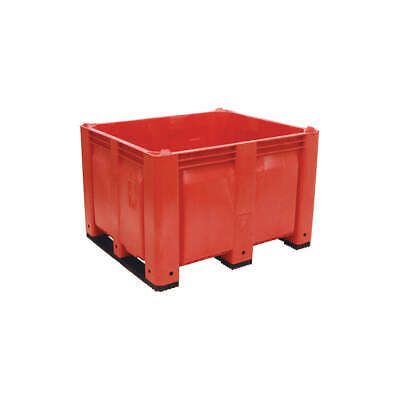 DECADE PRO High Density Polyethylene Bulk Container,Red,36-3/4in.W, M40SRD3, Red