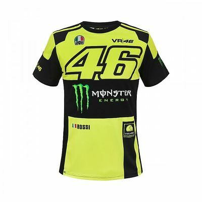 2018 OFFICIAL Moto GP VR46 Valentino Rossi MONZA Monster T-shirt Tee MENS - NEW