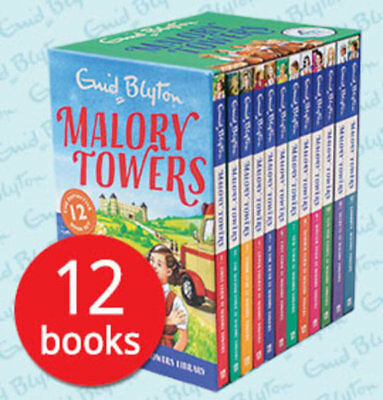 Malory Towers Enid Blyton Box Set Collection - 12 Books