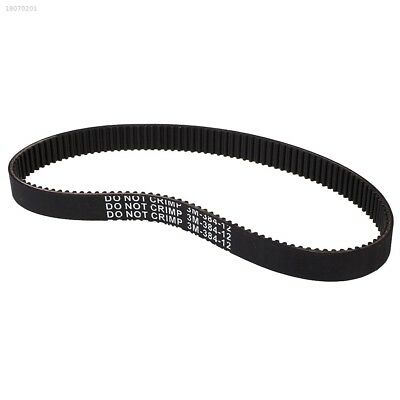 Kids Electric Scooter Drive Belt For E-Scooter Scooters 3M-384-12 Black AFCB32D