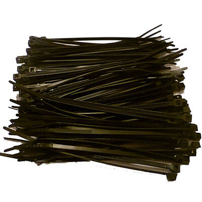 174eb5d12df5 100 X CABLE Ties (2.5 x 100mm) Black or White, 1st Class Same Day ...