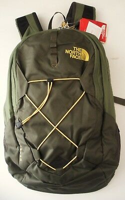e571c4504 THE NORTH FACE Jester Gray Green Backpack Outdoor NWOT - $71.99 ...