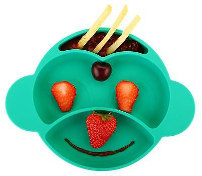 Toddler Plate, Baby Plate for Babies Toddlers and Kids, Portable BPA-Free FDA