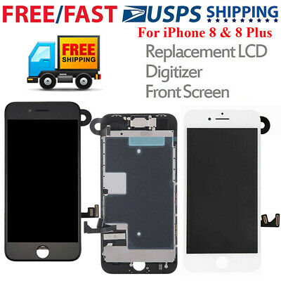 Front Screen Replacement For iPhone 8 & 8 Plus LCD Touch Digitizer Assembly Kits