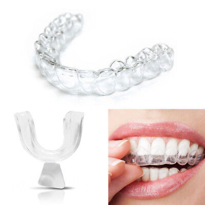 Silicone Night Mouth Guard For Teeth Clenching Grinding Dental Bite Sleep Aid *2