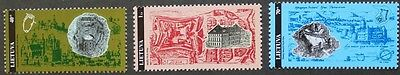 Castles stamps, 1995, Lithuania, SG ref: 597-599, 3 stamps, mint, never hinged