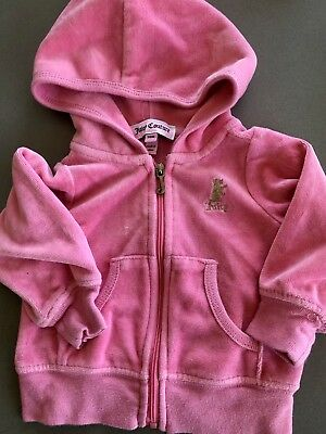 79a57d9c44 BABY JUICY COUTURE Girl Velour Sweatsuit 3/6mo - $12.99 | PicClick