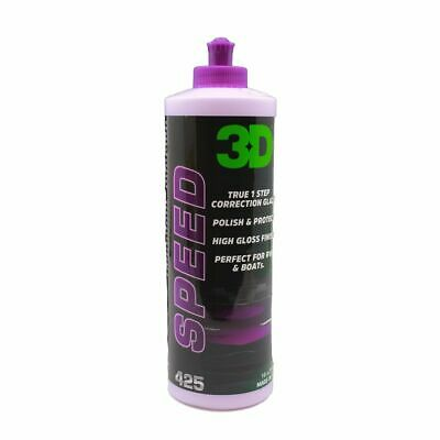 3D HD Speed All In One Cleaner Polish & Sealant 16 oz. 3D-425OZ16