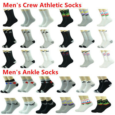 Maple Leaf 12 Pairs Ankle//Quarter Men Sport Socks Cotton Low Cut Size 9-11 10-13