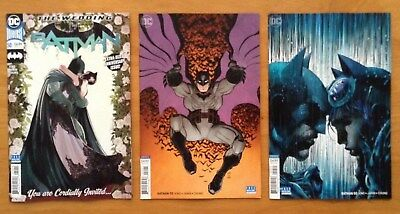 "Batman 50 Covers A,B,C "" The Wedding "" Jim Lee Variant C Cover 1st Print DC NM+"