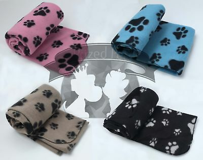 MEGA VALUE 4XColours Soft Fleece DogCat Blankets!