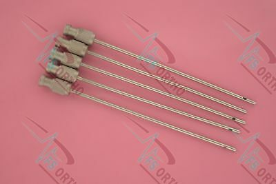 Liposuction Luer Lock Cannulas 15cm-2mm Set of 4 Pieces Surgical Instruments
