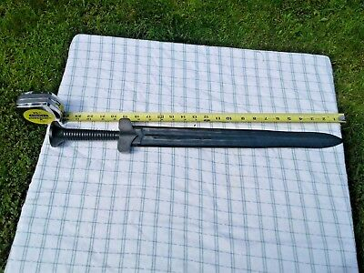 Antique Hand Carved Chinese Green Jade Hetian SWORD Excellent Condition