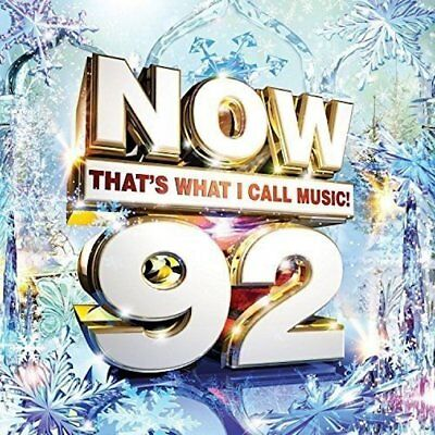 Now That's What I Call Music! 92 (2015) 2 Disc CD FREE SHIPPING