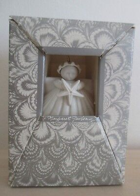 Margaret Furlong Carriage House Studio Porcelain Angel Ornament 1982