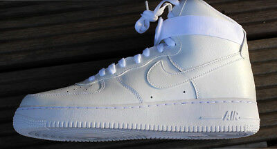 ac31f75c0c7 Brand New Box Men Real Air Force  1 High Model 315121-115 White Shoes