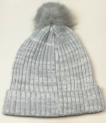 031faaf7e56 Hat Attack lightweight ribbed hat with faux fur pom from POPSUGAR retail  44