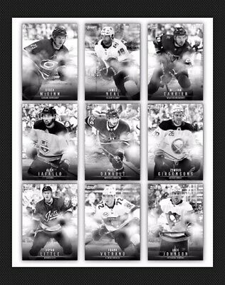 15 Card Set-Monochrome Wave 2 Base-Topps Skate 19 Digital