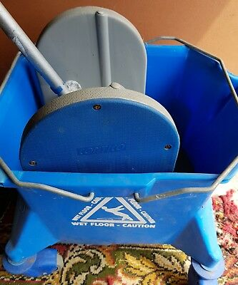 Colour Coded Commercial Industrial Mop Bucket & Wringer