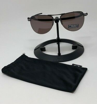44f9b7c97cd NEW OAKLEY POLARIZED TAILPIN AVIATOR SUNGLASSES OO4086-04 Carbon   Prizm  Daily