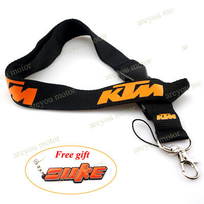 Lanyard Straps Neck Keychain Phone Card Holder For KTM Duke 1190 990 RC8 RC390