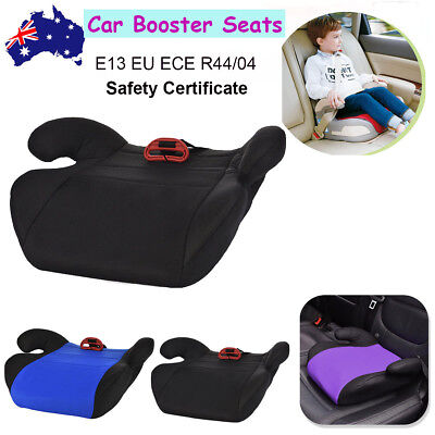 Child Car Booster Seat Chair Cushion Pad For Toddler Children Kids Sturdy Red AU