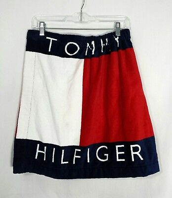 Adult 66 X 35 Inch 2019 Fashion Tommy Hilfiger Plush Beach Towel Tropical Prints
