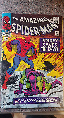 Amazing Spider-Man - The End Of The Green Goblin (1966)