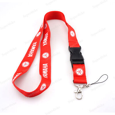Motorcycle Lanyard Straps Neck Keychain Phone Card Holder For Yamaha Tmax500 FZR