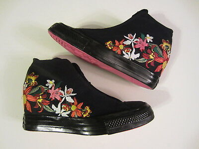 c14310b24312 NEW Converse x PatBo Chuck Taylor All Star Lux 554865C womens shoe wedge  floral