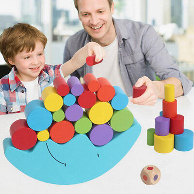 dren Toys Moon Balance Game and Games Toy for 2-4 year old Girl & boy(Blue) U5W2