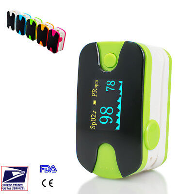 Profession OLED Finger-tip Pulse Oximeter Blood Oxygen meter SpO2 PR Monitor FDA