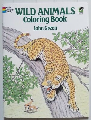 Wild Animals Coloring Book ~ Dover Coloring Book ~ Art & Science for Kids