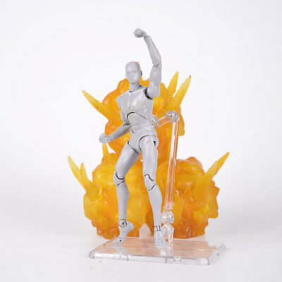 Tamashii Effect Explosion Yellow Ver. for S.H.Figuarts Fix D-Arts Anime Figure