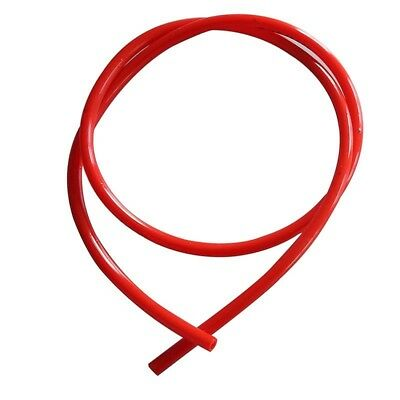 1M Car Motorcycle Dirt Fuel Gas Oil Delivery Tube Hose Line Rubber Pipe Red