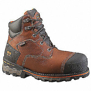 TIMBERLAND PRO Work Boots,Mens,10,W,Lace Up,Brown,PR, 92641, Brown
