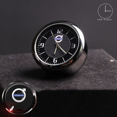 For Volvo Car Quartz Analogue Clock Luminous Electronic Decor Ornaments