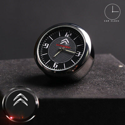 Fit For Citroen Car Electronic Quartz Analogue Clock Interior Ornaments Decro