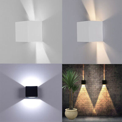 12W New Up/Down Lamp Wall Sconce Light Adjustable Indoor Cafe Commercial Deco