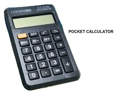 All Use Small 8 Digit Display Mini Pocket Size Calculator for Home School Office