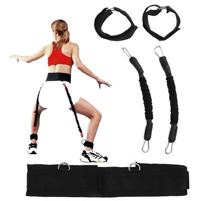 Resistance Band Fitness Bounce Trainer Rope Jump Leg Strength Agility Training
