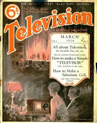 Television Magazine Collection 292 Issues In PDF On DVD
