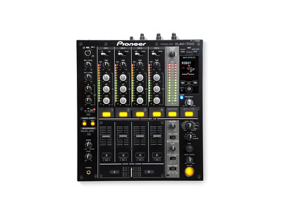 Pioneer DJM700 4 channel DJ Mixer AS New with Box