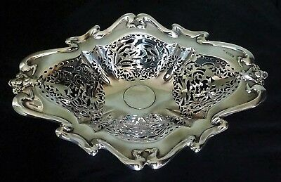 Art Nouveau English Sterling Silver Dish by Colen Hewer