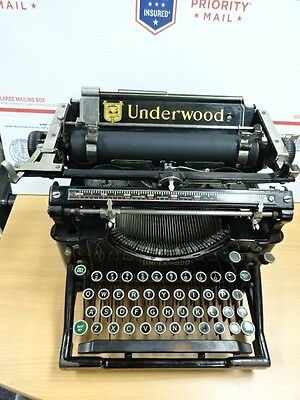 UNDERWOOD TYPEWRITER No. 5 ANTIQUE ABLE TO WRITE NEEDS RIBBON AS IS B#TOPANGA