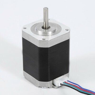 Nema 17 Stepper Motor 1.8° 4-wires 60mm 1.5A 3.52V 0.65N.m Stepper Motor CNC HA1