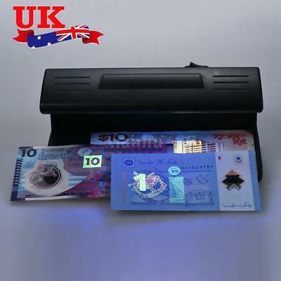 UV Light Counterfeit Bill Detector Forged Money Fake Polymer Bank Note Checker