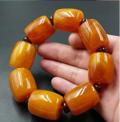 2017 Fashion boutique Baltic amber beeswax Successful men's bracelets