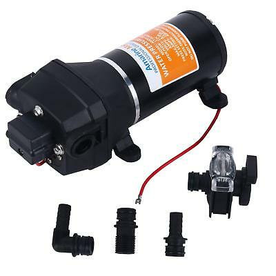 Fittings 12V DC 0.8-4.5gpm Fine SEAFLO 10 TO 60 PIS Water Pump 40 PSI 4.5 GPM