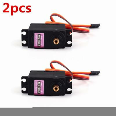 2pcs Metal Servo MG996R Metal Gear 13kg Analog Servo For RC Racing Car New V3K1